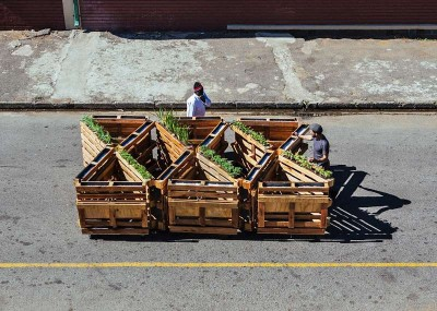 Brothers in benches pallet progetto sociale fatto a Johannesburg2