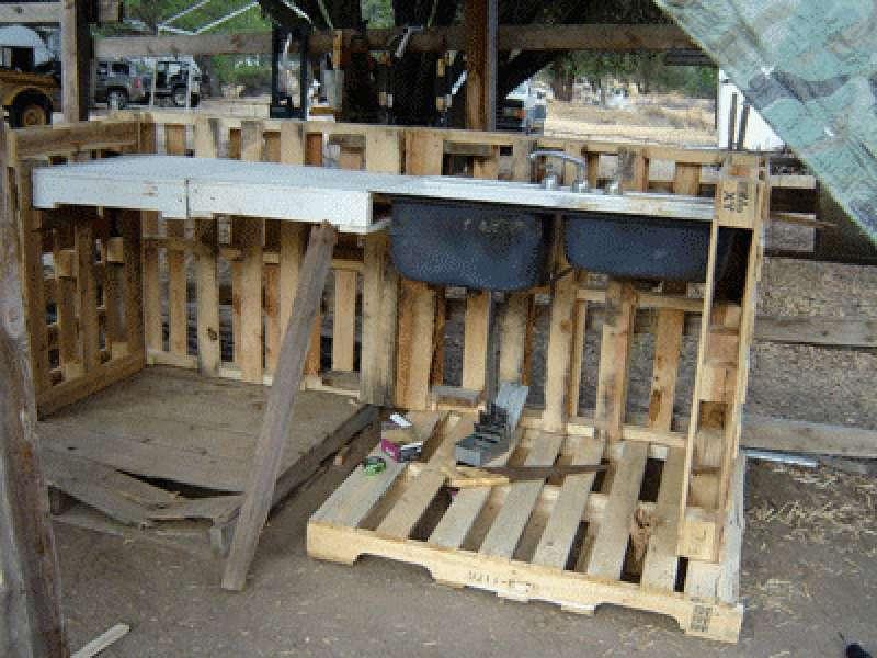 Tavolo Da Lavoro Con Bancali : Tavolo con bancali fai da te come costruirlo in passaggi