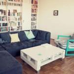 Come costruire un tavolo giovanile per il soggiorno con un pallet