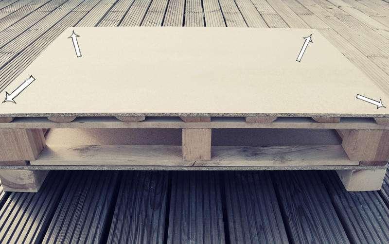 Come costruire un tavolo giovanile per il soggiorno con un palletMobili con Pallet  Mobili con ...