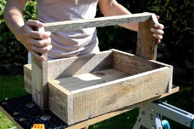 Costruire due canestri con un singolo pallet4