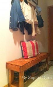 Guida passo per passo, una panca per la sala realizzato con pallet4