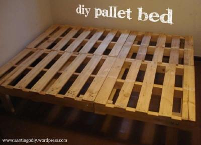 Processo di progettazione per la struttura di un letto con pallet