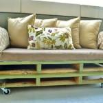 Un divano pallet, i piani e le istruzioni per costruirlo