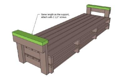 Un divano pallet i piani e le istruzioni per costruirlo - Divano pallet istruzioni ...