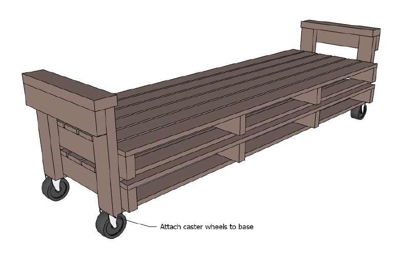 Un divano pallet, i piani e le istruzioni per costruirlo Mobili con ...