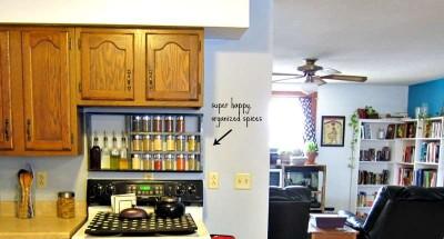 costruire uno scaffale per le specie da cucina4