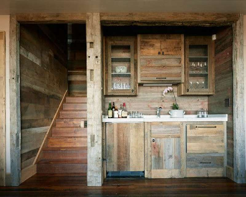 10 disegni cucina incredibili realizzati con palletmobili for Kitchen units made from pallets