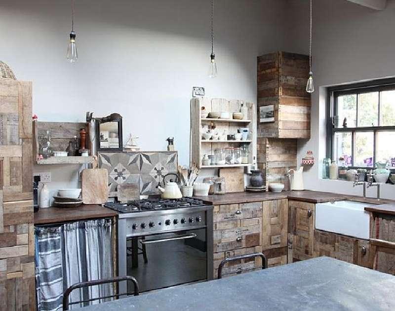 10 Disegni Cucina Incredibili Realizzati Con Palletmobili