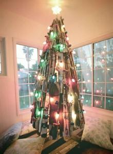 12 idee per la progettazione di un albero di Natale con i pallet2