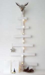 12 idee per la progettazione di un albero di Natale con i pallet7