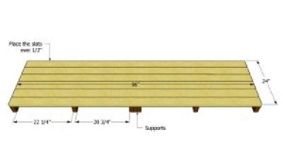 Costruire un capannone di pallet  per il legno2