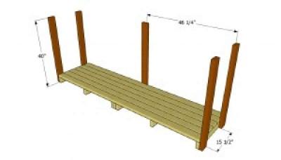 Costruire un capannone di pallet  per il legno3