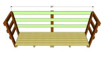 Costruire un capannone di pallet  per il legno5