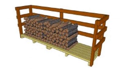 Costruire un capannone di pallet  per il legno6