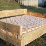 Letto a castello per cani realizzati con pallet mobili con pallet mobili con pallet - Costruire un letto a castello ...