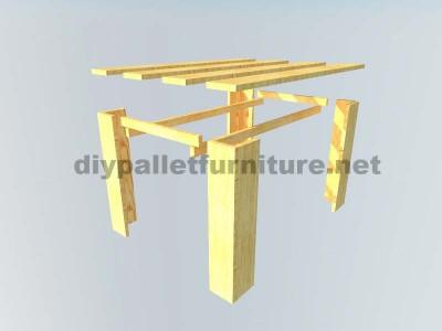 I piani per fare un tavolo con tavole pallet 2