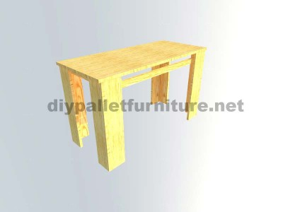 I piani per fare un tavolo con tavole pallet 6
