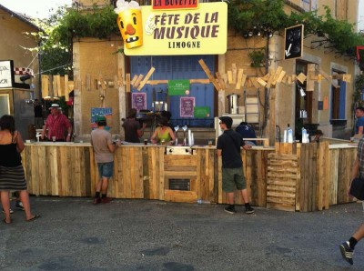 Les tavolozze du Coeur, una associazione francese di artisti pallet7
