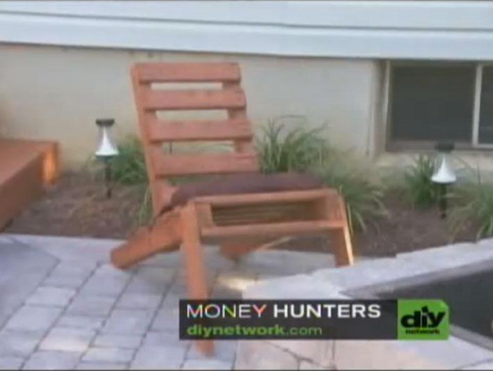 Video didattico di come fare una sedia adirondack con un pallet Mobili ...