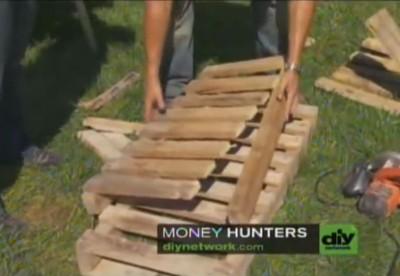 Video didattico di come fare una sedia adirondack con un pallet 4