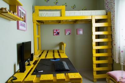 ottenere spazio nella vostra camera con questa soluzione. Black Bedroom Furniture Sets. Home Design Ideas