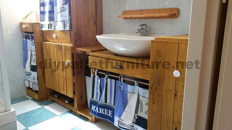 ... vostra stanza da bagno con palletmobili con pallet mobili con pallet