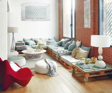 10 magnifici saloni decorati con pallet5