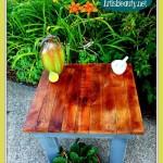 Come fare un tavolo da caff vintagemobili con pallet - Costruire tavolino ...
