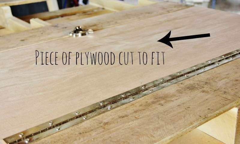 come costruire un tavolo pieghevole-scaffali, passo dopo passomobili