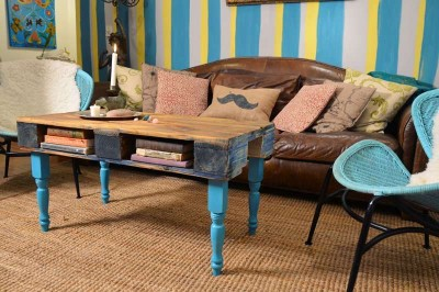 Come trasformare un pallet in una tavoli hipster per il soggiorno1