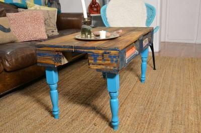 Come trasformare un pallet in una tavoli hipster per il soggiorno14