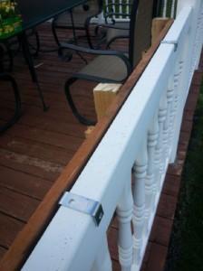 Costruire 2 fioriere per una recinzione con un pallet11