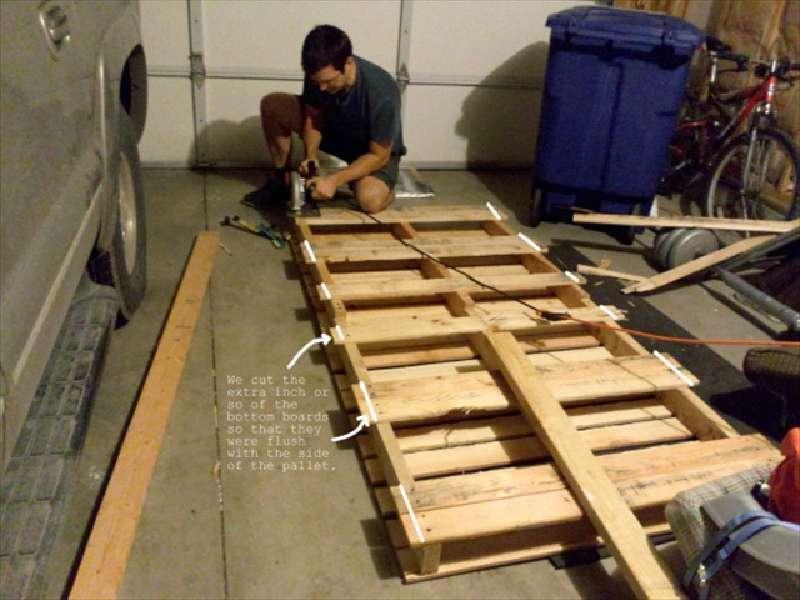 Costruire un lettino per bambini con solo due palletmobili for Costruire con i pallet