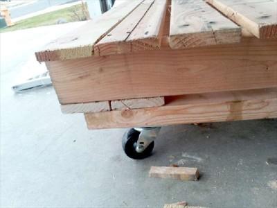Costruire un lettino per bambini con solo due pallet5