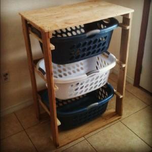 I piani e le istruzioni per costruire un cassetto per il bucato11