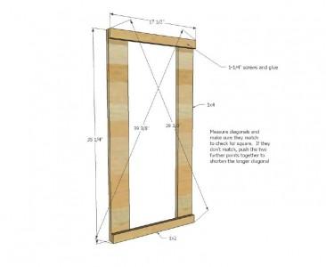 I piani e le istruzioni per costruire un cassetto per il bucato3