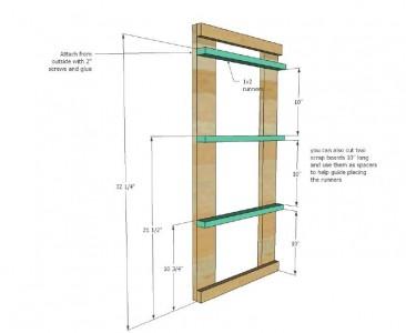 I piani e le istruzioni per costruire un cassetto per il bucato4