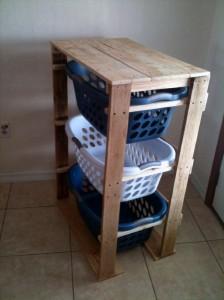 I piani e le istruzioni per costruire un cassetto per il bucato8