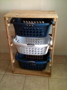 I piani e le istruzioni per costruire un cassetto per il bucato9
