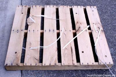 Istruzioni passo passo per costruire un cassetto pallet modulare2