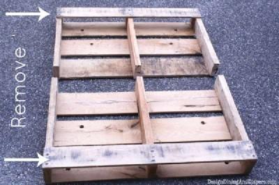 Istruzioni passo passo per costruire un cassetto pallet modulare4