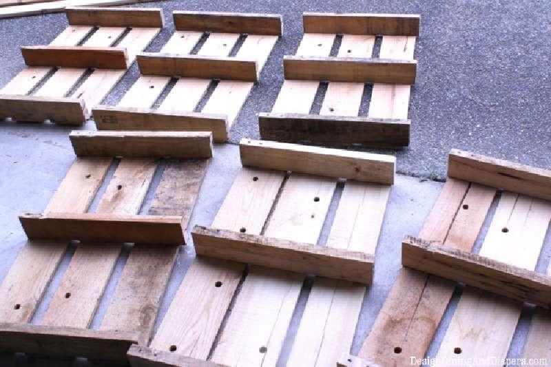 Istruzioni passo passo per costruire un cassetto pallet for Costruire con i pallet
