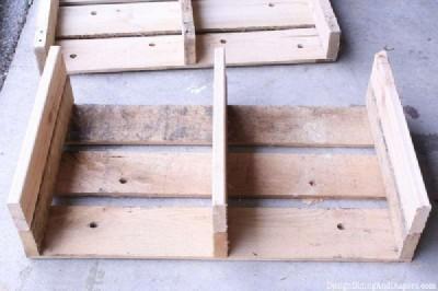 Istruzioni passo passo per costruire un cassetto pallet modulare8