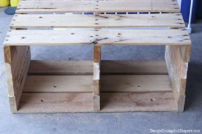 Istruzioni passo passo per costruire un cassetto pallet modulare9