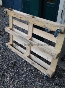 Istruzioni passo passo per costruire un tavolo salone con pallet2