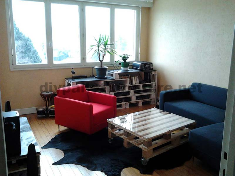 Costruire Tavoli Con Pallet : Istruzioni passo passo per costruire un tavolo salone con