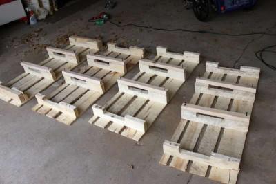 Istruzioni passo passo per costruire una scarpiera utilizzando pallets12