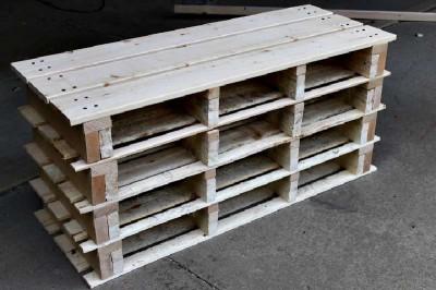 Istruzioni passo passo per costruire una scarpiera utilizzando pallets18