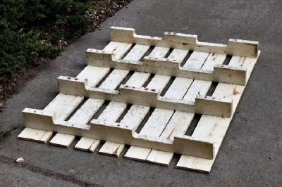 Istruzioni passo passo per costruire una scarpiera utilizzando pallets4